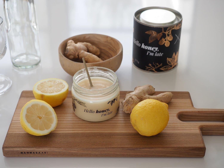 sliik inkivaari hunaja juoma