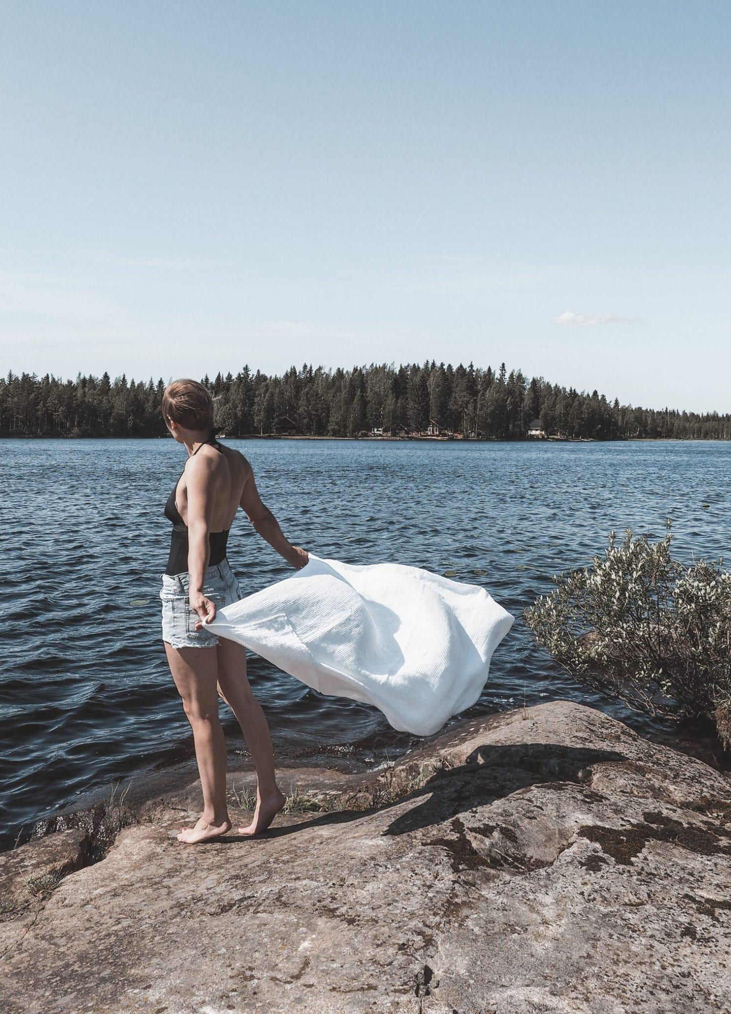 Sliik Nordic Swan Living Luoto Pyyhe