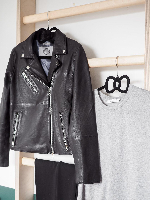 Sliik Human Scales Leather Jacket
