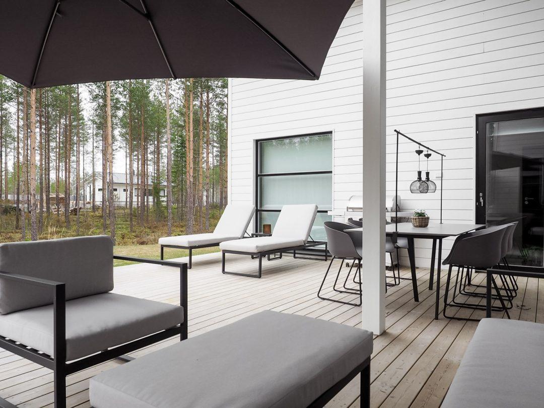 Sliik Modernit Terassikalusteet Bauhaus