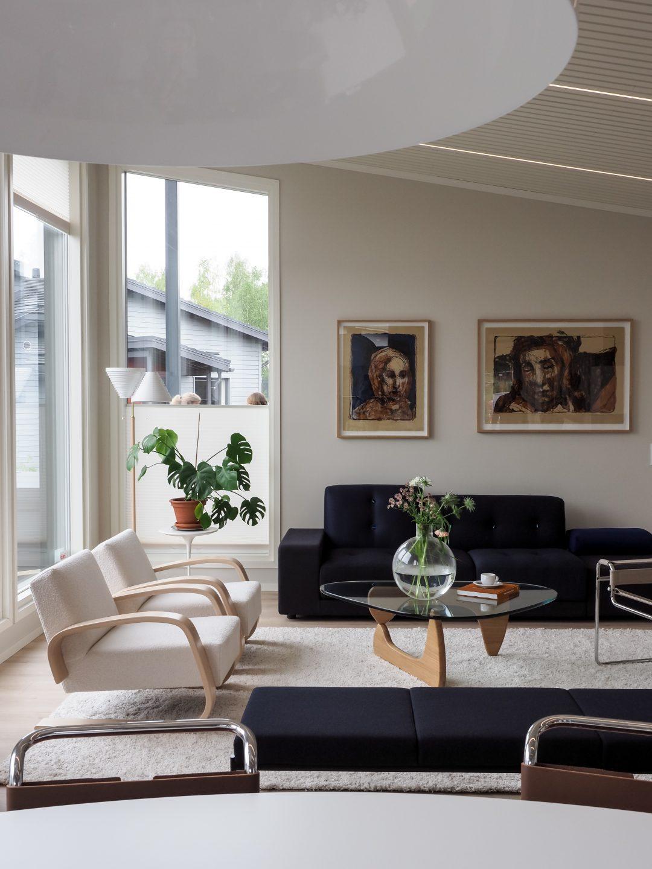 Sliik Asuntomessut 2021 3 Kannustalo Suomi Olohuone