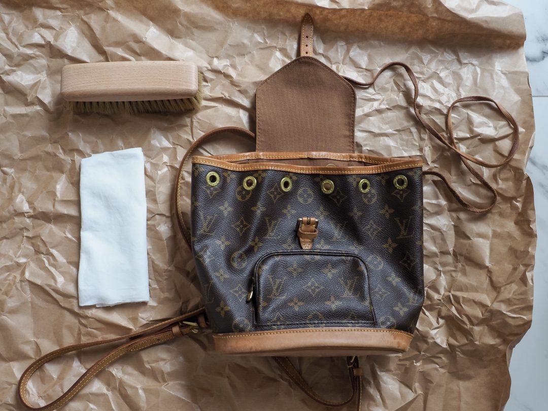 Sliik Louis Vuitton Reppu Puhdistus