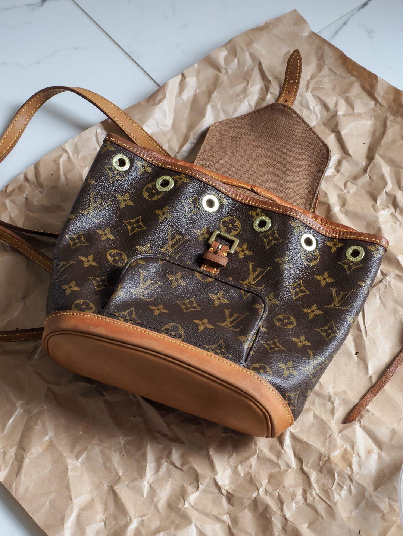 Sliik Louis Vuitton Vintage Laukku Huolto