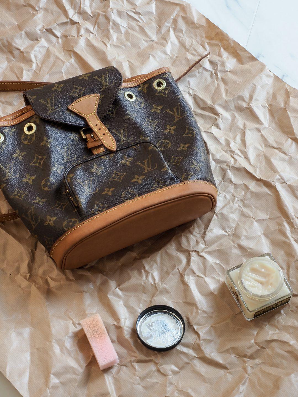 Sliik Louis Vuitton Vintage Laukku Puhdistus